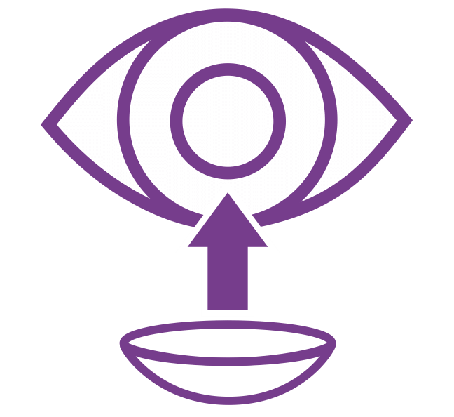 Индивидуальные контактные линзы
